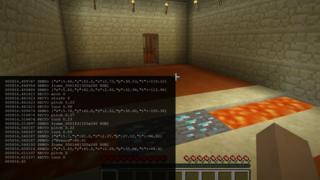 AI running on top of Minecraft