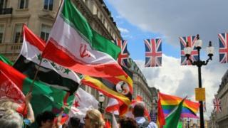 رژه سالانه همجنسگرایان در لندن