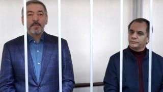 Абдусамад Гамидов и Раюдин Юсуфов