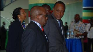 Prof Githu Muigai na onyeisiala Kenya bụ Kenyatta