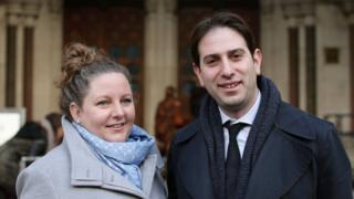 Rebecca Steinfeld, 37, and Charles Keidan, 41