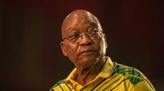 Jacob Zuma waxa uu la kulmayaa culays siyaasadeed