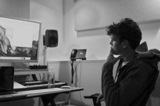 Kamakaze in a studio