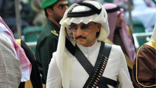الوليد بن طلال أحد أبرز الأمراء الموقوفين