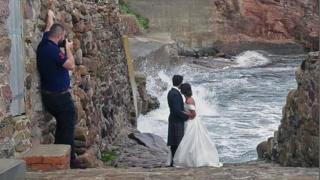 Sea wedding pics