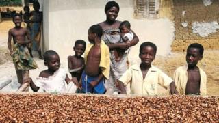 Mama na wana nchini Ghana
