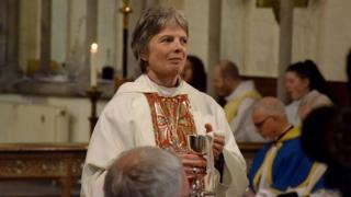 Gay bishop will not push for same-sex marriage