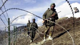 انڈین فوج لائن آف کنٹرول پر
