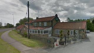 Lakeside pub