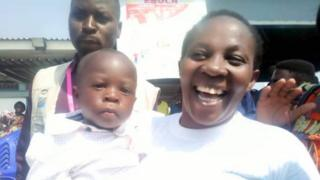 oth survivors are the wife and child one of the three Ebola deaths in Goma last month