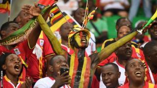 Uganda football fans