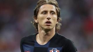 Modric, le capitaine de l'équipe nationale croate