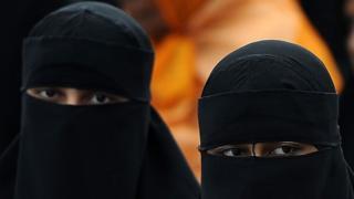 Muslim women from Sri Lanka in Colombo, 2013