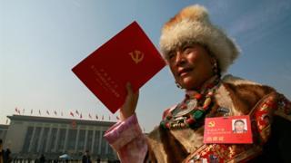 Delegado del Partido Comunista chino.