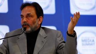 Dr. Prannoy Roy, Executive Chairperson of NDTV, attends the inaugural Abu Dhabi Media Summit, on March 10, 2010 in Abu Dhabi, United Arab Emirates.