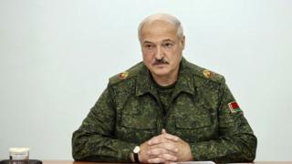 President Alexander Lukashenko told his officials to prepare forces on the border with Poland