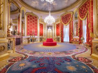 The Royal Pavilion in Brighton, East Sussex restored Saloon