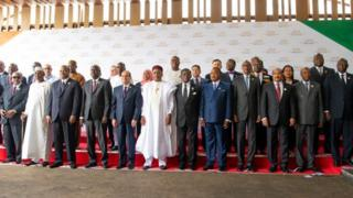 Heads of State for AU meeting inside Niger between 4-8 July, 2019.