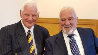 Dits Preece and Allen Jones