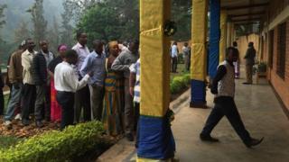 Voters i Kigali