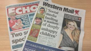 Western Mail a'r South Wales Echo