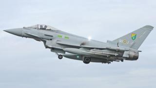 RAF Typhoon (stock photo)