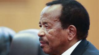 Paul Biya, presido of Cameroon