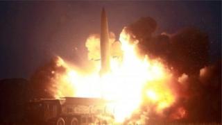Korea y'ubumanuko ivuga ko izo missile za Koreay y'Uburaruko zidashika kure