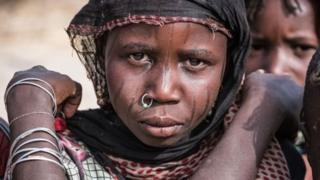 Çad'da kız çocuğu