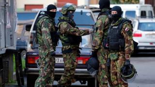 Rusya polis baskını
