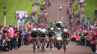 Giro d'Italia Gogledd Iwerddon