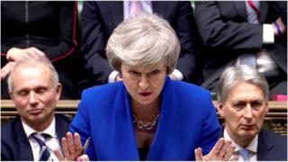 Тереза Мей в парламенті