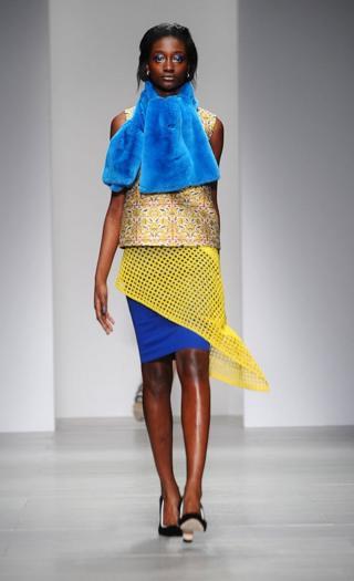 Показ коллекции бренда Osman на неделе моды в Лондоне