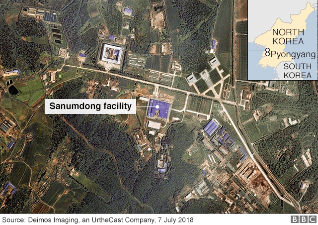Satellite image of Sanumdong facility