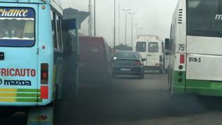 Traffic in Nairobi