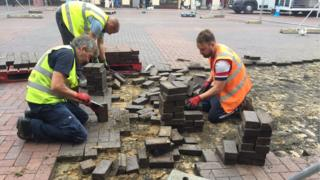 Archaeological investigation in the Cornhill