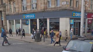 Greggs George Square
