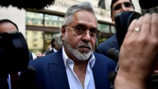 Vijay Mallya leaves after an extradition hearing at Westminster Magistrates Court, in central London, on 13 June, 2017.