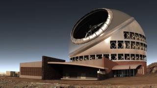 Thirty Meter Telescope, artist's impression