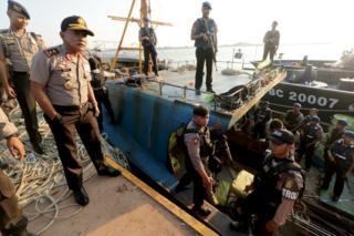 narkoba di kapal berbendera Singapura 20 Februari 2018