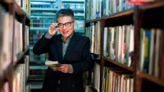 GS Ngô Bảo Châu trong Thư viện Quốc gia