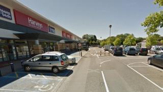 Brighton Hill Retail Park in Basingstoke
