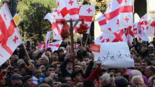 Протести в Грузії