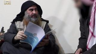 """البغدادي في آخر ظهور له، يبحث في ملف """"ولاية تركيا"""" التي تدل على وجود للتنظيم في تركيا"""