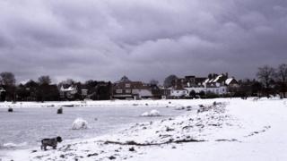 Зимний день в Уимблдоне