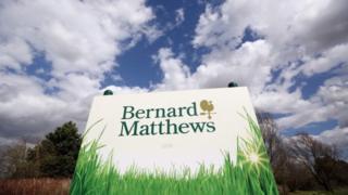 Bernard Matthews sign