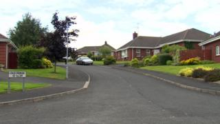 The man was found dead in the Old Forge area of Banbridge