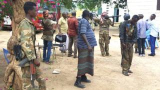 Abasirikare ba somaliya baracakeneye vyishi mw'itunganywa ryabo