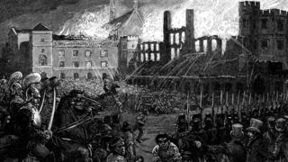 Westminster fire 1834