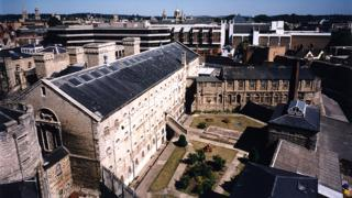 General view of the site of HMP Oxford